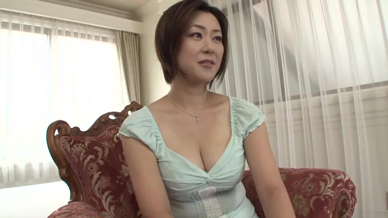 【人妻初撮りドキュメント/神野雅子】38歳の清楚な美熟女がAVデビューする素人企画